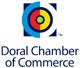 Logo for City of Doral Chamber of Commerce.